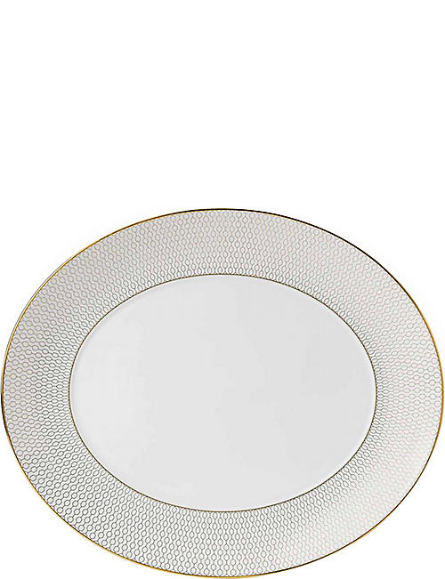WEDGWOOD: Arris oval serving platter