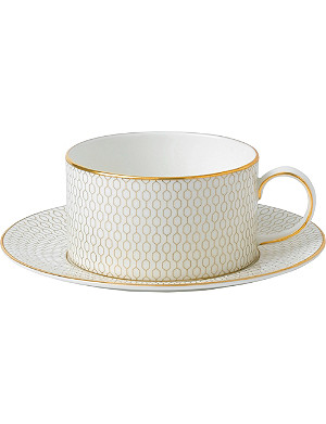 WEDGWOOD Arris teacup and saucer