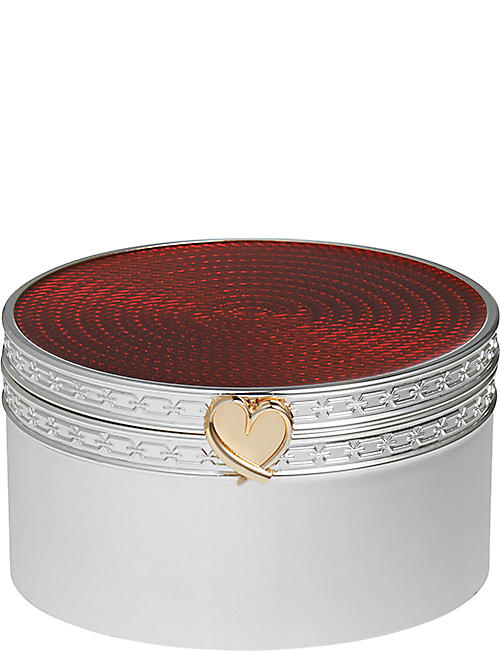 VERA WANG @ WEDGWOOD: Treasures with Love heart treasure box