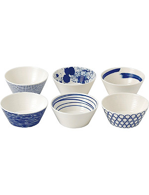 ROYAL DOULTON Pacific patterned bowl set