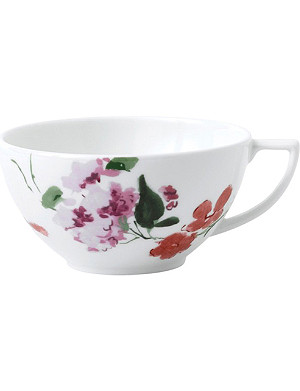JASPER CONRAN @ WEDGWOOD Floral bone china teacup