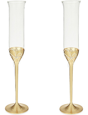 VERA WANG @ WEDGWOOD Love Knots toasting flutes