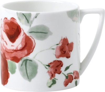 JASPER CONRAN @ WEDGWOOD Floral bone china mini mug