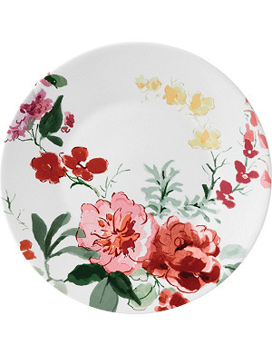 JASPER CONRAN @ WEDGWOOD Floral cone china charger plate 33cm