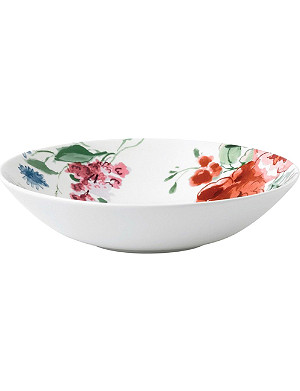 JASPER CONRAN @ WEDGWOOD Floral bone china bowl 22cm