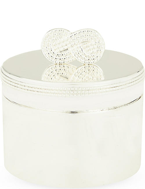 VERA WANG @ WEDGWOOD Baby first curl/tooth box