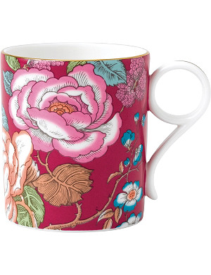 WEDGWOOD Raspberry tea garden china mug