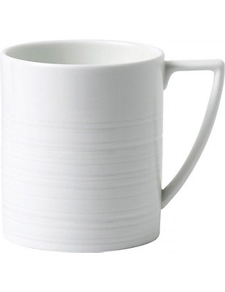JASPER CONRAN @ WEDGWOOD: Strata bone china mug