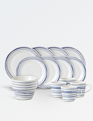 ROYAL DOULTON Pacific Lines 16-piece porcelain dinner set