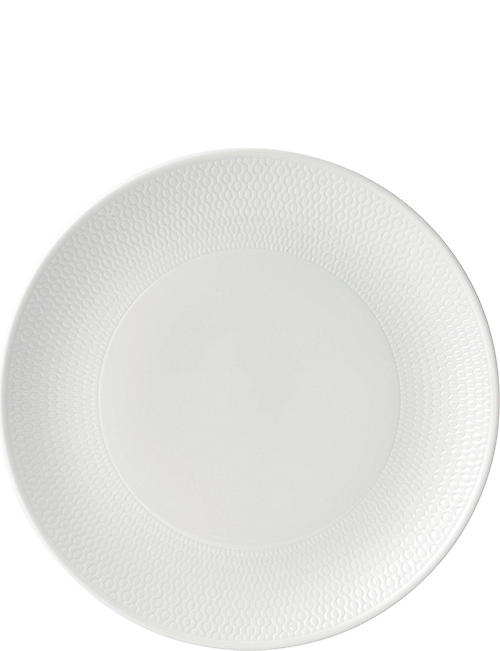 WEDGWOOD: Gio fine bone china plate 28cm
