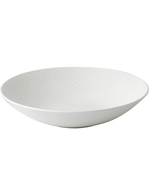 VERA WANG @ WEDGWOOD Gio fine bone china pasta bowl 23cm