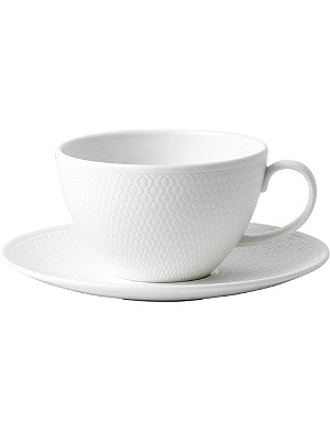 VERA WANG @ WEDGWOOD Gio fine bone china tea cup and saucer