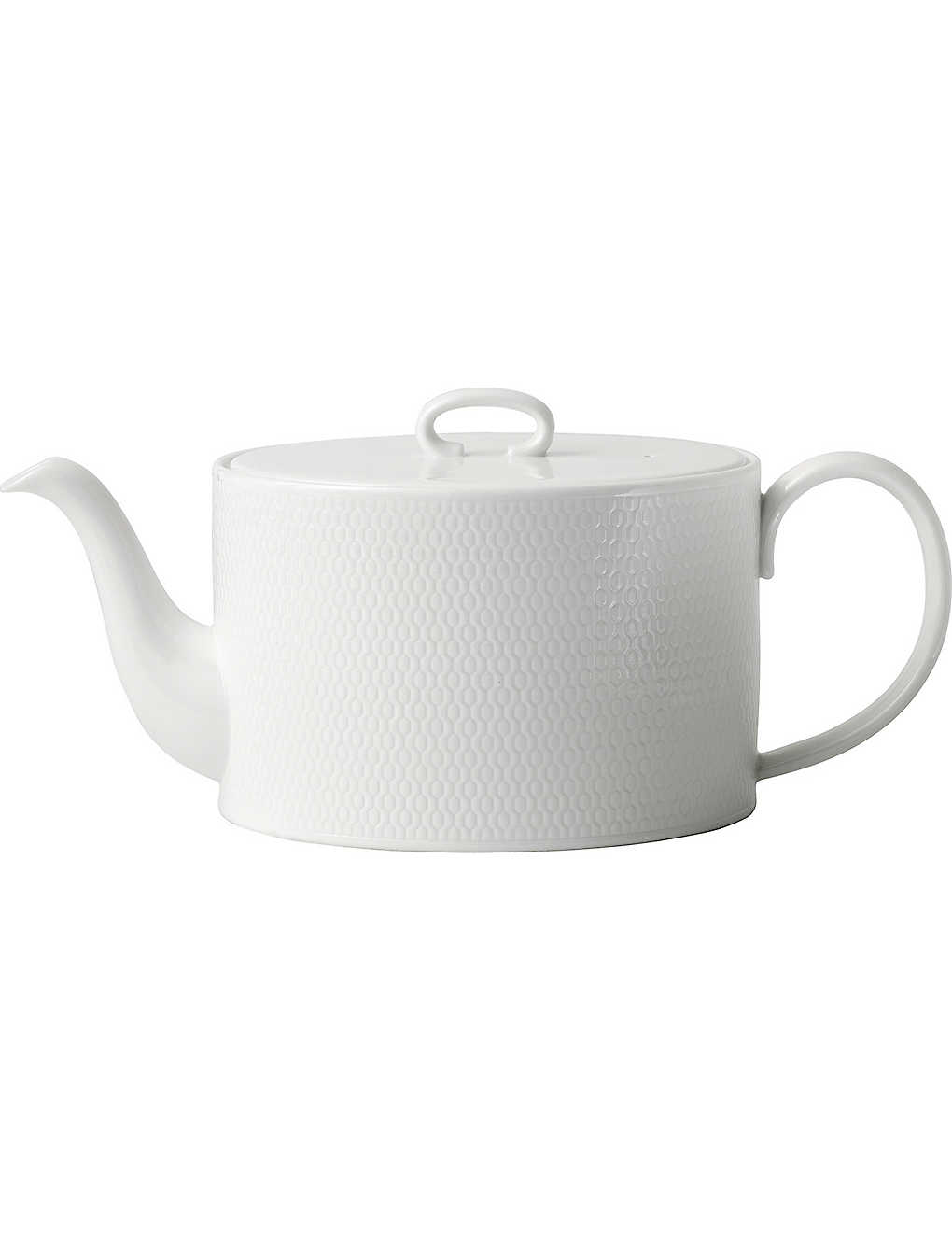 WEDGWOOD: Gio fine bone china teapot 1L