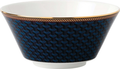 WEDGWOOD Byzance fine bone china and 22ct gold cereal bowl 15cm