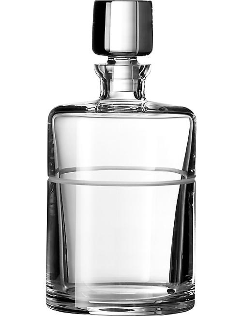 VERA WANG @ WEDGWOOD: Bande crystal spirits decanter