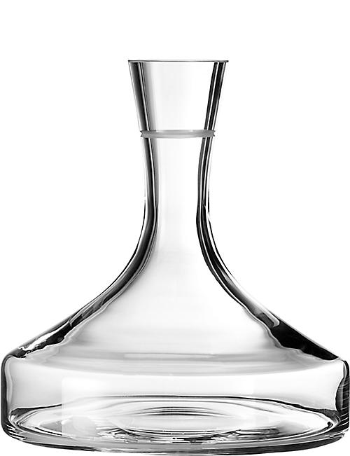 VERA WANG @ WEDGWOOD: Bande crystal wine decanter