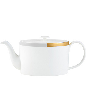 VERA WANG @ WEDGWOOD Castillon fine bone china teapot 1L