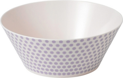 ROYAL DOULTON Pastels melamine serving bowl 24cm