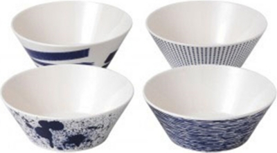 ROYAL DOULTON Pacific melamine bowl set of four 15cm