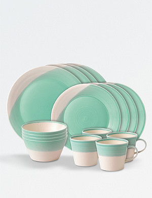 ROYAL DOULTON 16-piece porcelain dining set