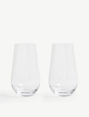 WEDGWOOD Globe hi-ball glasses set of two