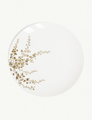 VERA WANG @ WEDGWOOD Jardin bone china dinner plate 28cm