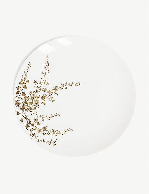 VERA WANG @ WEDGWOOD: Jardin bone china dinner plate 28cm