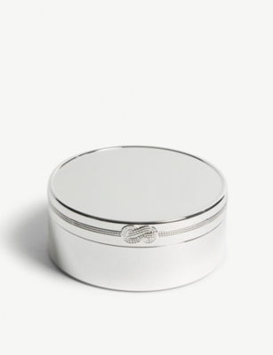 VERA WANG @ WEDGWOOD Infinity round keepsake box