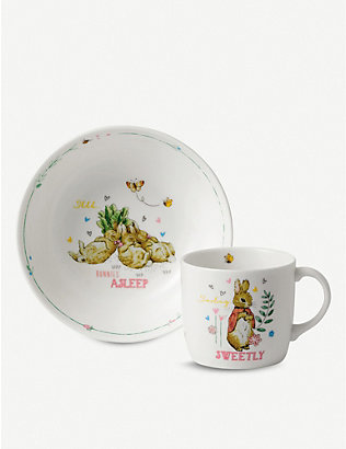 WEDGWOOD: Peter Rabbit two-piece set