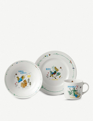 WEDGWOOD Peter Rabbit three-piece set