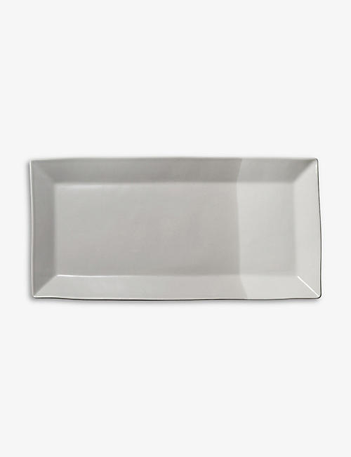 ROYAL DOULTON: Coffee Studio rectangular porcelain tray 38.5cm