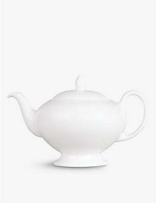WEDGWOOD: Wedgwood White fine bone china tea pot