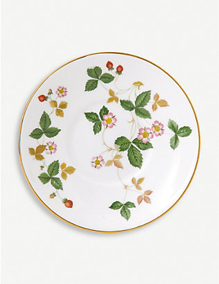 WEDGWOOD: Wild Strawberry coffee saucer 12.5cm