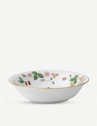 WEDGWOOD: Wild Strawberry bone china bowl 16cm