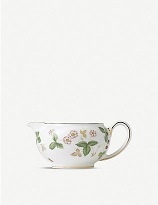 WEDGWOOD: Wild Strawberry bone china cream jug 150ml