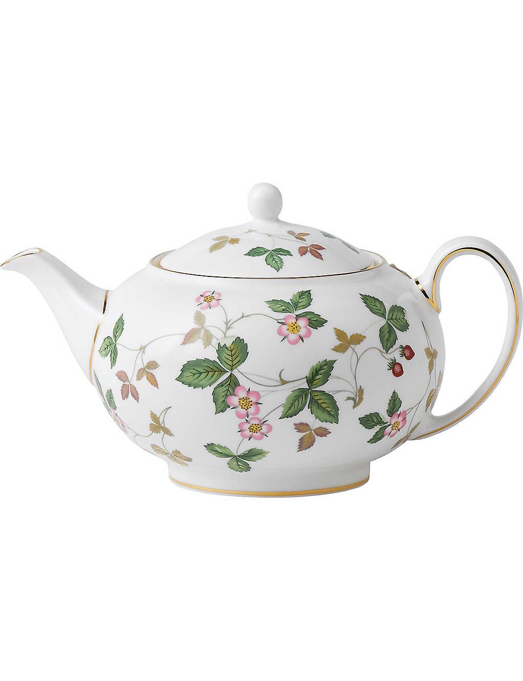 WEDGWOOD: Wild strawberry small teapot
