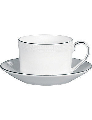 VERA WANG @ WEDGWOOD Vera Wang x Wedgwood Blanc sur Blanc bone china teacup