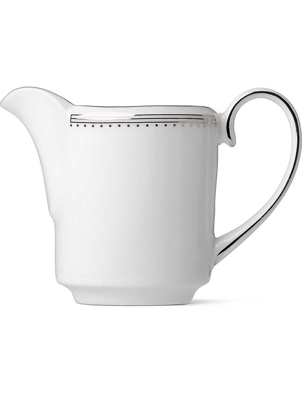VERA WANG @ WEDGWOOD: Grosgrain cream jug
