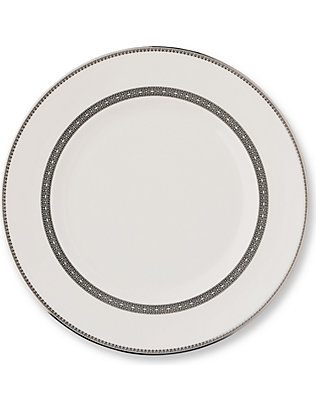 VERA WANG @ WEDGWOOD: Lace Platinum plate 27cm