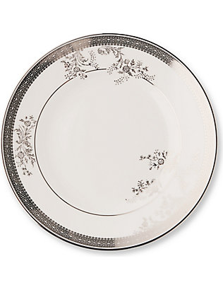 VERA WANG @ WEDGWOOD: Lace Platinum plate 20cm