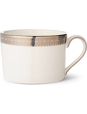 VERA WANG @ WEDGWOOD Lace Platinum teacup