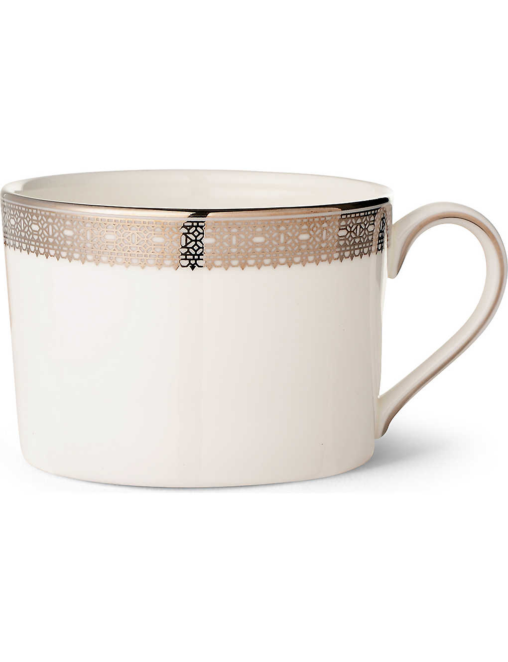 VERA WANG @ WEDGWOOD: Lace Platinum teacup