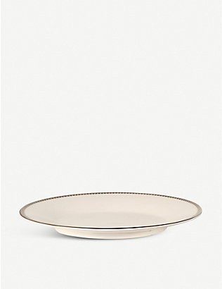 VERA WANG @ WEDGWOOD: Lace Platinum sauce boat stand