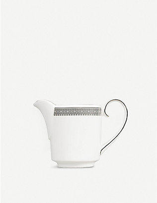 VERA WANG @ WEDGWOOD: Lace Platinum cream jug