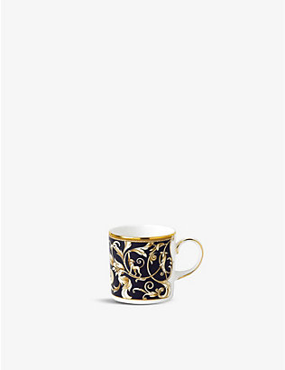 WEDGWOOD: Cornucopia fine bone china coffee cup 150ml