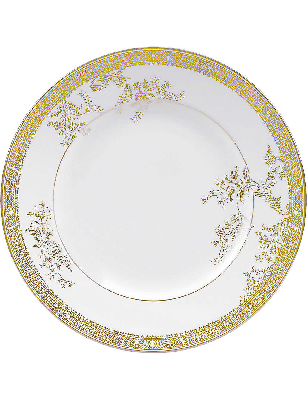 VERA WANG @ WEDGWOOD: Lace Gold plate 20cm