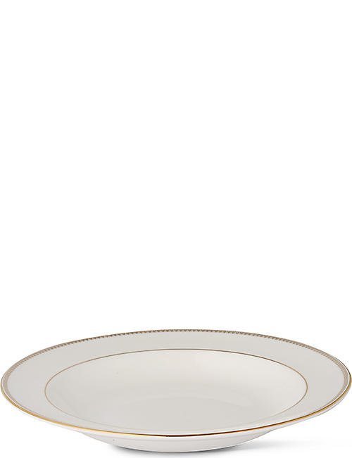 VERA WANG @ WEDGWOOD: Lace Gold soup plate