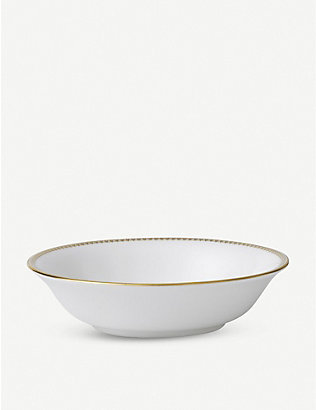 VERA WANG @ WEDGWOOD: Lace Gold fine bone china cereal bowl 16cm