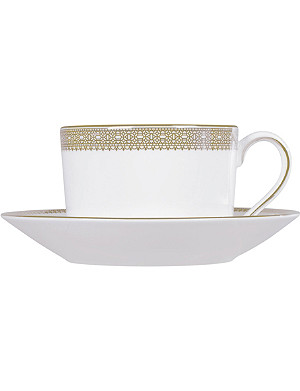 VERA WANG @ WEDGWOOD Lace Gold teacup