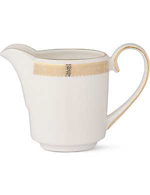VERA WANG @ WEDGWOOD Lace Gold cream jug